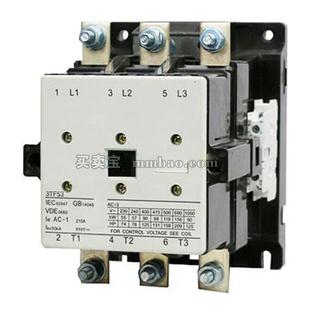 西门子 交流接触器;3TF5322-0XC1 24V 205A