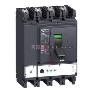 施耐德 塑壳断路器;NSX400N MIC2.3 250A 3P3D (3P) 电操 AC220V 固定式前接线