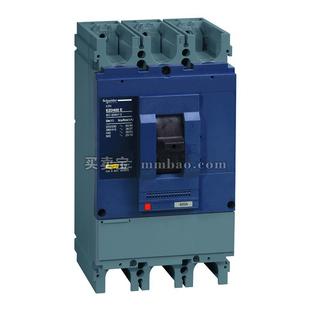 施耐德 塑壳断路器;EZD400E-400A 插入式 4P(新)