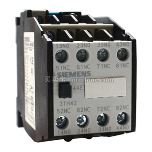 西门子 中间继电器;3TH4244-0XK2 120V