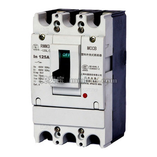 上海人民 塑壳配电保护;RMM3-630HP/4360B 630A AC230V 插入式板后