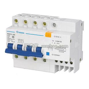 上海人民 微断漏电保护;RMC1-63C/2P 10A+RMC1L-50/2P