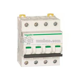 施耐德 Acti 9 微型断路器;IC65H 4P C40A