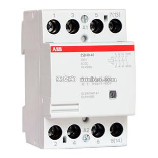 ABB 特殊接触器;ESB20-20 230V 50Hz/255V 60Hz