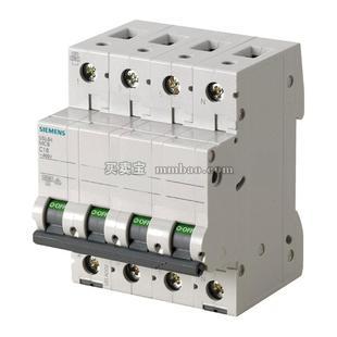 西门子 微型断路器;5SL6406-6CC(4P B6A)