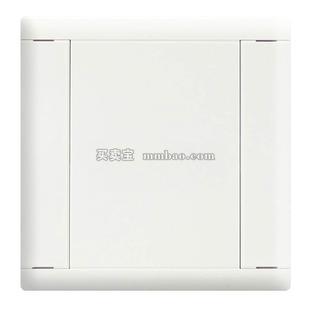 施耐德 A5莹润 面板开关;78002059 声光控开关(白色)
