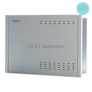 施耐德 Delta5 弱电箱;D5MBB10U 10U金属箱体(386*280*120)
