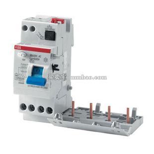ABB 漏电模块附件;DDA202 AC-25/0.03