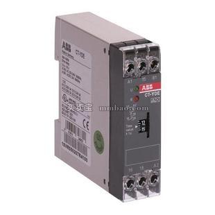 ABB 时间继电器;CT-YDE,1C/O,0.1-10S,24VAC/DC 220-240VAC