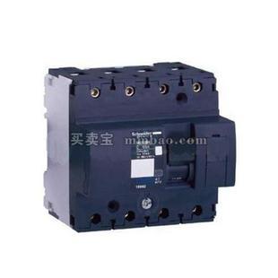 施耐德 Acti 9 微型断路器;NG125L-C10A/4P