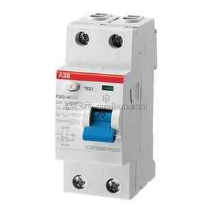 ABB 漏电开关;F204 AC-63/0.5