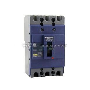施耐德 塑壳断路器;EZD100M-100A MA 电动机保护 3P(新)
