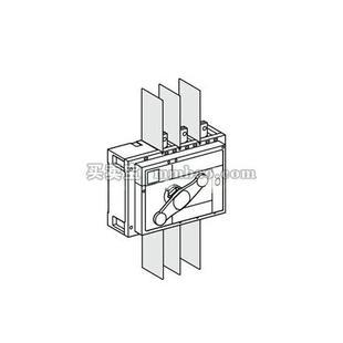施耐德 开关附件;INS630B-1600 端子罩低端 3P