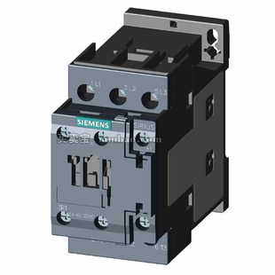 西门子 交流接触器;3RT6015-1KB42 DC24V 7A 直流宽电压线圈 集成浪涌抑制器 1NC