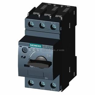 西门子 电动机保护断路器;3RV6011-1AA10 0.55KW 1.1-1.6A