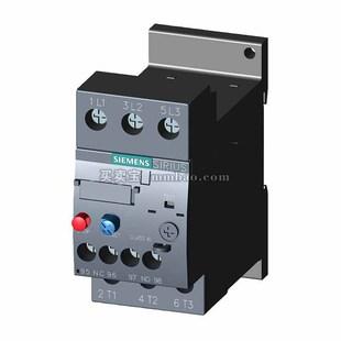 西门子 过载继电器;3RU6116-0AB0 0.11-0.16A