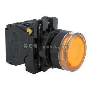 施耐德 按钮指示灯;XB5-AW31M1C (ZB5AW313C+ZB5AW0M11C)