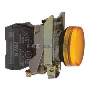 施耐德 按钮指示灯;XB4-BVM1