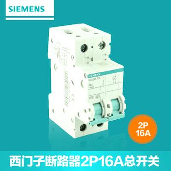 【西门子】小型断路器2P总开关 16A