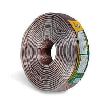 秋叶原 200芯金银喇叭线无色透明100米QF7116HT100